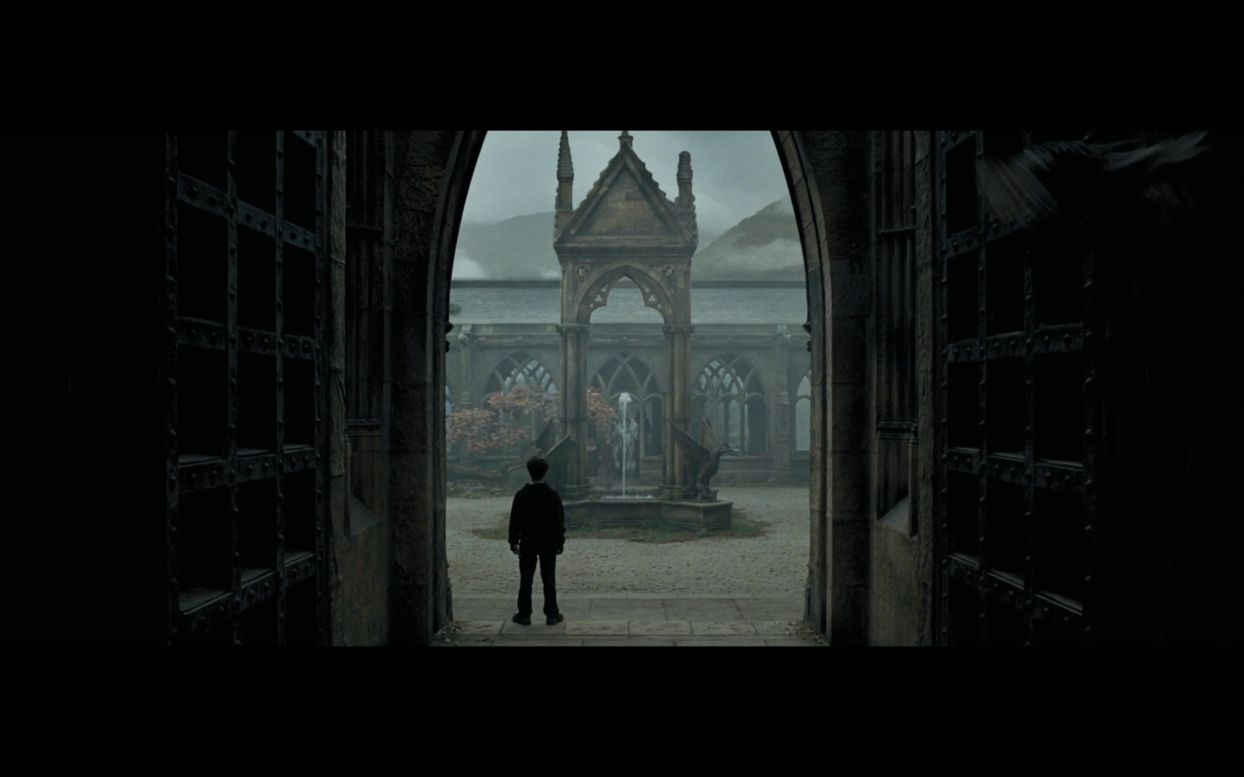 Shot 1 - Transition from the scene before in the Clock Tower