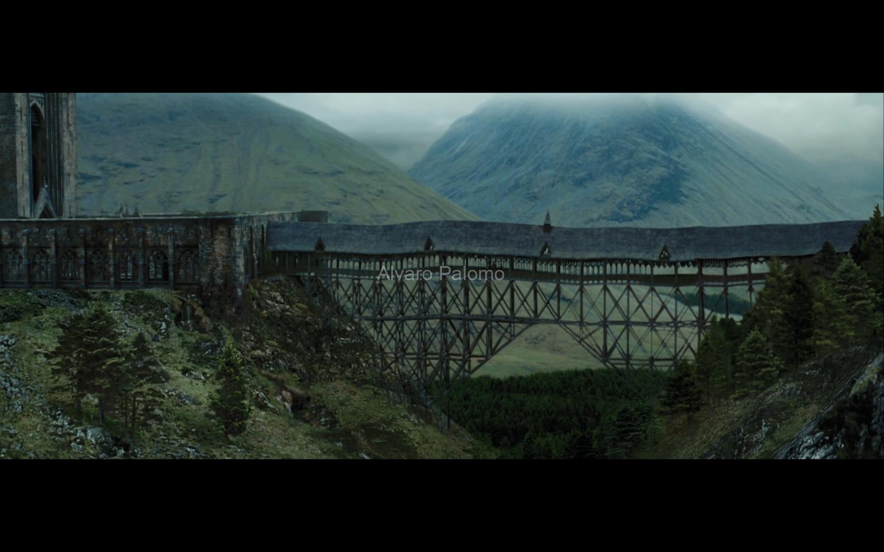 Shot 2 - Establishing shot in the bridge